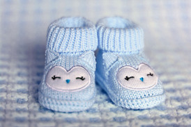 Blue Infant Shoes