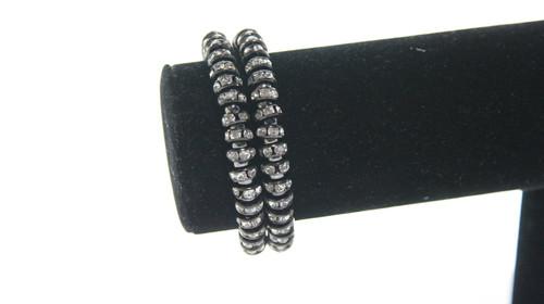 6b09d8a484 Ashanti Spiral Bracelet Black