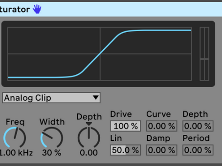 Everything You Need to Know About the Ableton Saturator