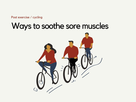 5 basic tips to overcome sore muscles