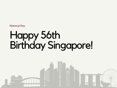Happy Birthday Singapore!