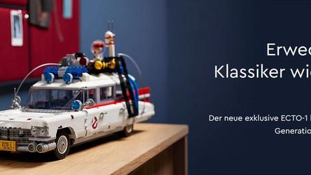 Erwecke einen Klassiker zum Leben. LEGO 10274 Ghostbusters ECTO-1
