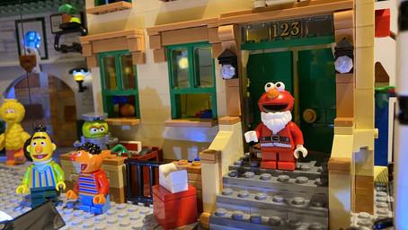 LEGO 21324 Sesamstrasse MOD mit LED Beleuchtung