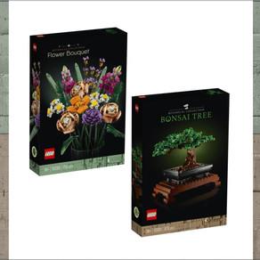 NEWS!!! LEGO 2021 10280 Flower Bouqet +10281 Bonsai Tree