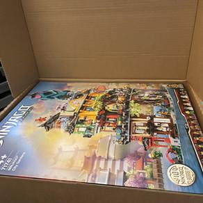 LEGO 71741 Ninjago City Gardens: Auslieferung erfolgt, extra Umkarton schützt die Verpackung