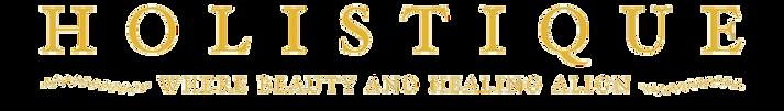 holistique name and slogan transparent b