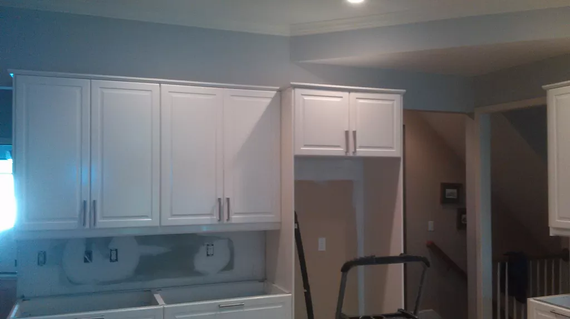 Kitchen restoration in progress