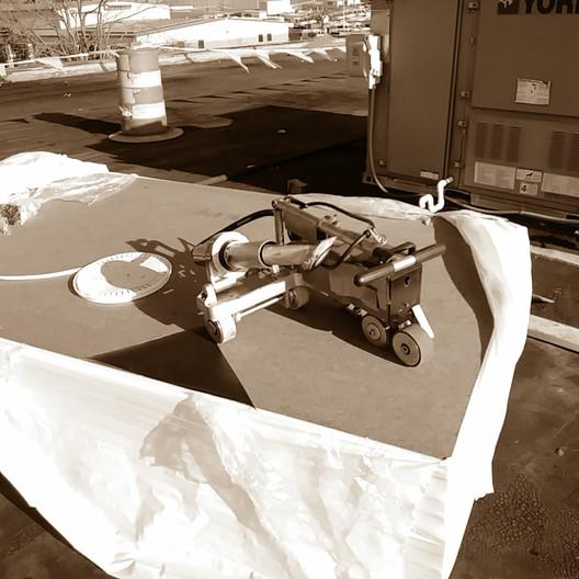 Robotic TPO welder