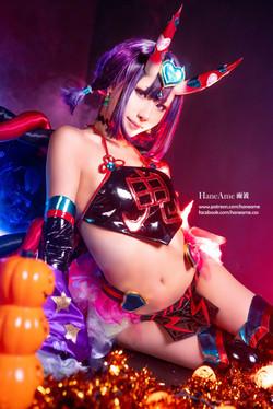 HaneAme_ShutenDouji_Halloween11