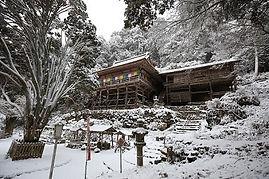 高澤観音の冬(本堂)