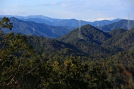 高澤山頂上からの眺望