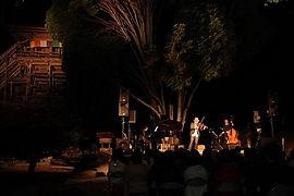 高澤観音の秋(ムーンライトコンサート)