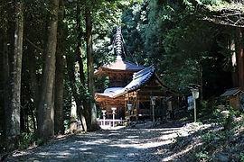 高澤観音の夏(多宝塔)