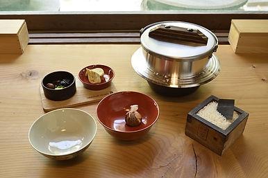 自宅で羽釜炊きセット.jpg