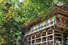高澤観音の秋(本堂)