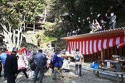 日龍峯寺節分祭