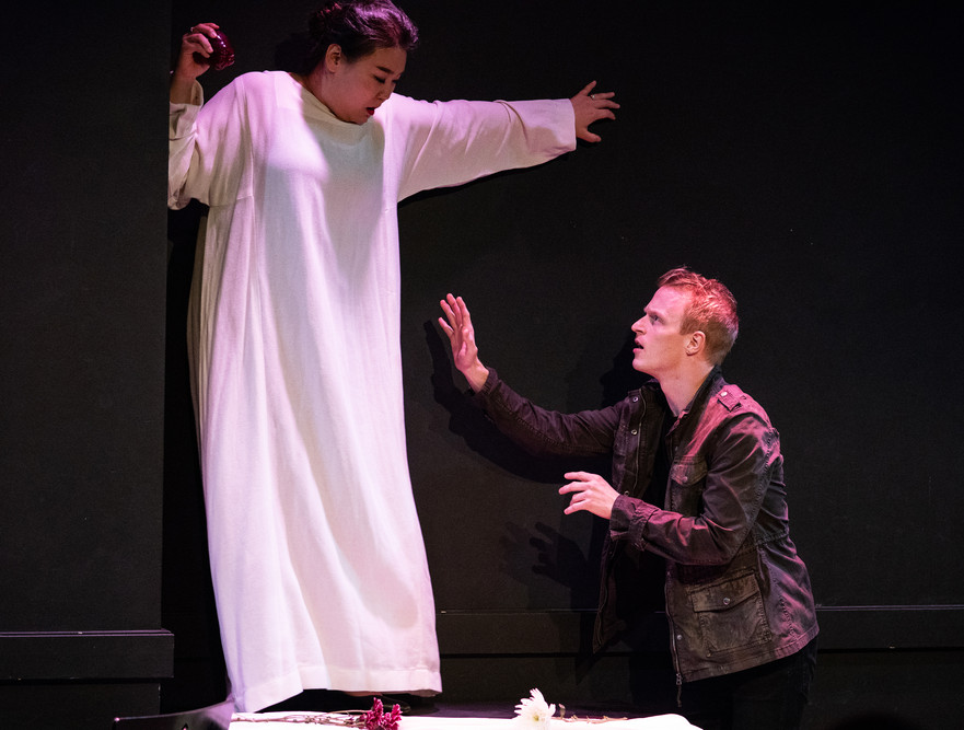 The Dinner Party Operas - 'Avery and Ainsley' NYU Grad Musical Theatre Dir Diane Machin/Lights Rachel Fae Szymanski/Photo Steven Pisano