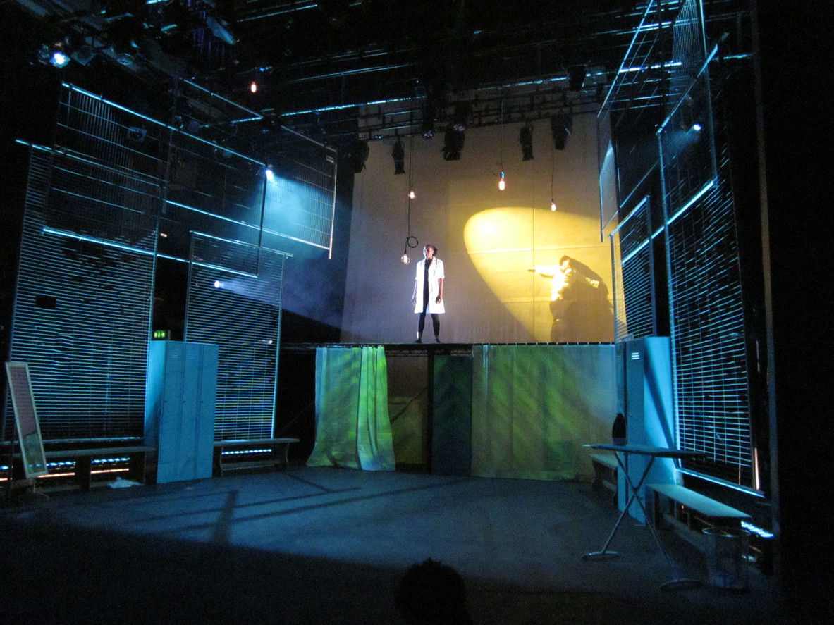 Lie With Me (Talawa Theatre), Written and Directed by Ola Animashawun, The Embassy Theatre London, Lights by Pablo Fernández Baz, Sound by Giles Thomas, Movement Director Coral Messam, Assisted by Ashley Panton
