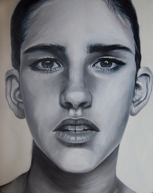Oil on Board, 20 x 60 cm