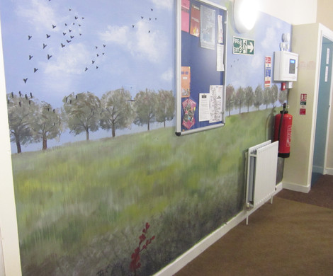 Mural for Children's Charity, DePaul