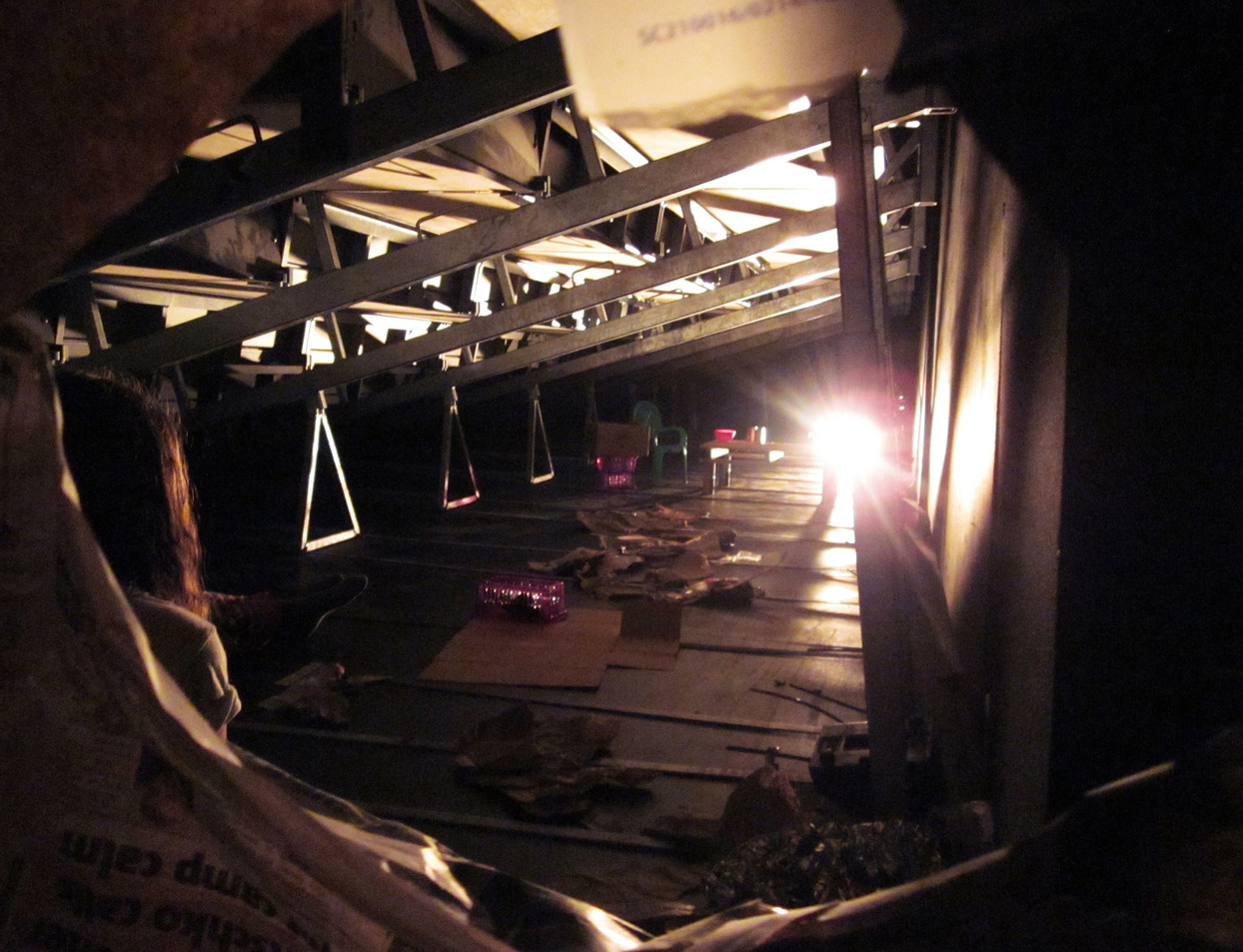 A Tree, Hit the Ground theatre, The Barbican, London, a developmental piece created by Lateisha Davine Lovelace Hanson