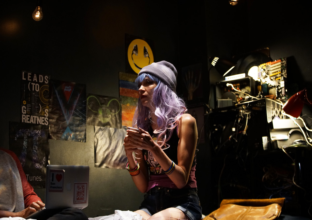 XANDER XYST: DRAGON 1 BY Jeremy O. Harris at Arts Nova (Antfest) Director: Jesse Rasmussen  Producer: David Bruin / un sphinx incompris  Projection: Yaara Bar Lighting: Erin earle Fleming Costume: Cole McCarty Sound: Michael Costagliola and Ien DeNio  Photos: Wills Glasspiegel