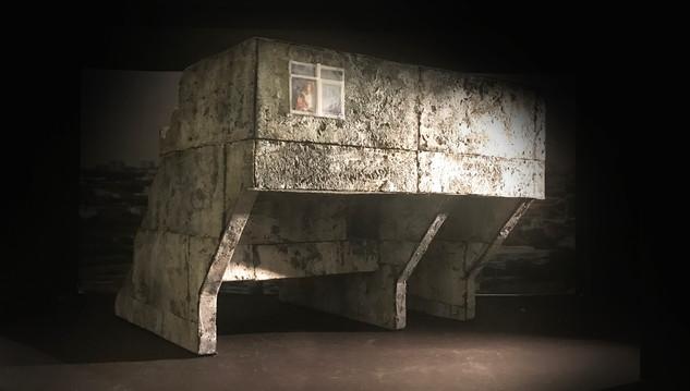 "Wozzeck, Paper Project, Glimmerglass, 1/2"" Scale"