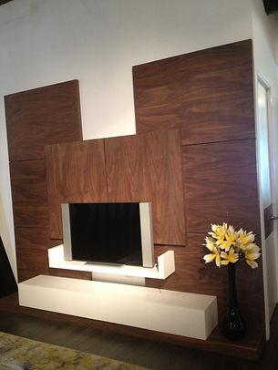 mueble TV madera monterrey