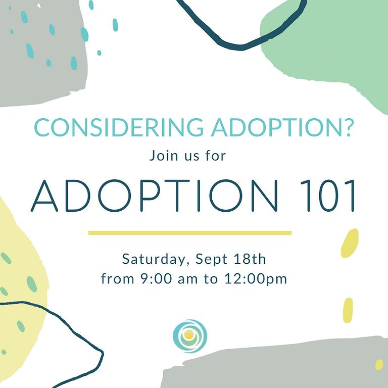 Adoption 101 September 2021