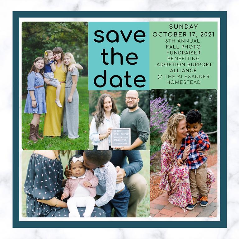 Fall Photo Fundraiser 2021