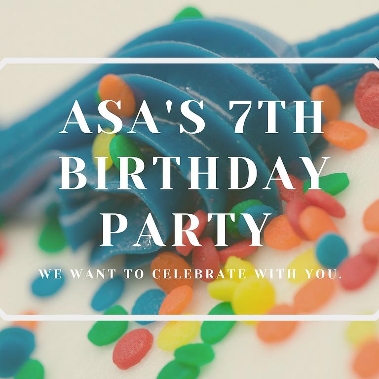 ASA's 7th Birthday Party!