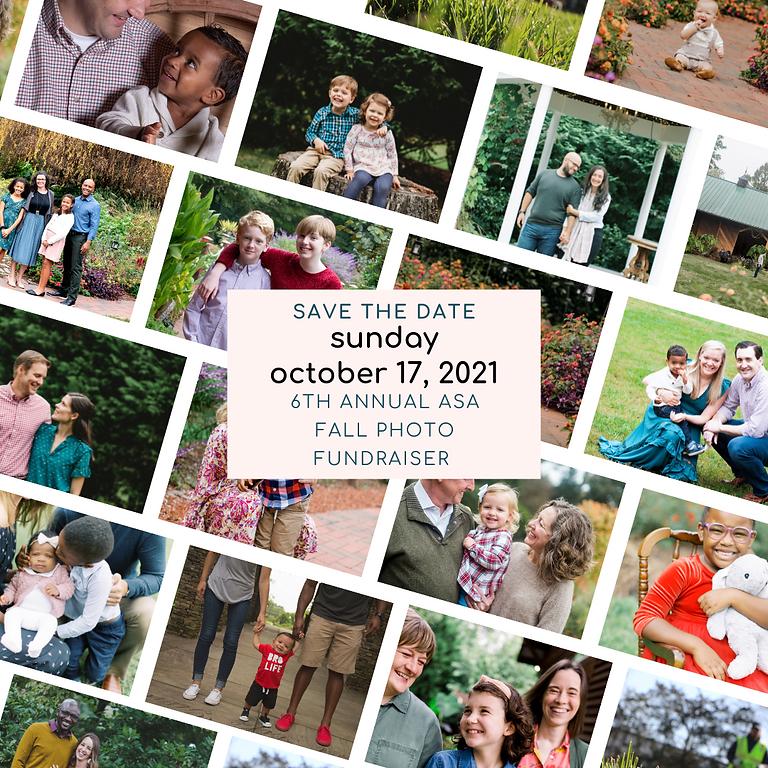 2021 Fall Photo Fundraiser
