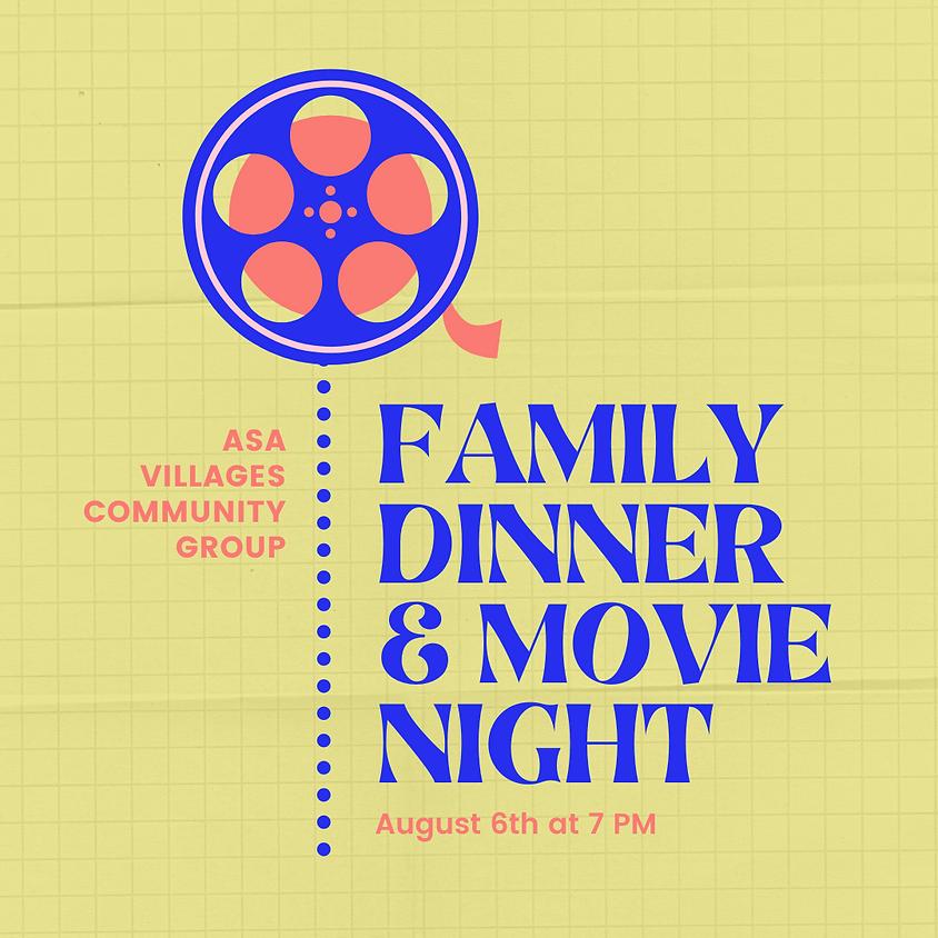 The Village Community Group Family Dinner & Movie Night