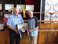 bis tony heywood and dennis hogg doncaster bs president with bird.JPG