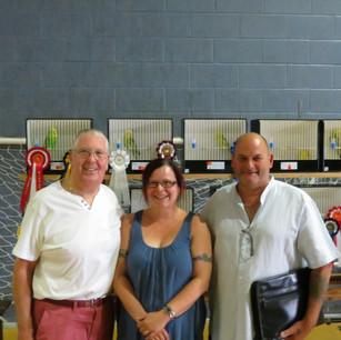 Peter Hutchinson, Gina & Alan Adams