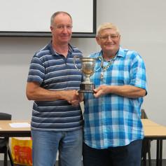 Graham Turner & YBS president Ian Heptinstall