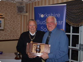 Roy Tickle Golden bird winner 2015