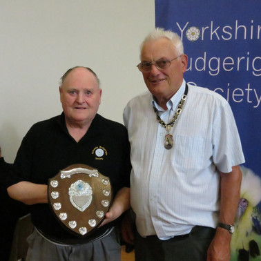 Best clearwing C, D & S Sharpe & YBS president Geoff Moore