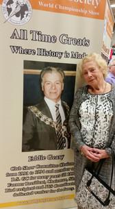 Eddie Geary club show greats banner 2017