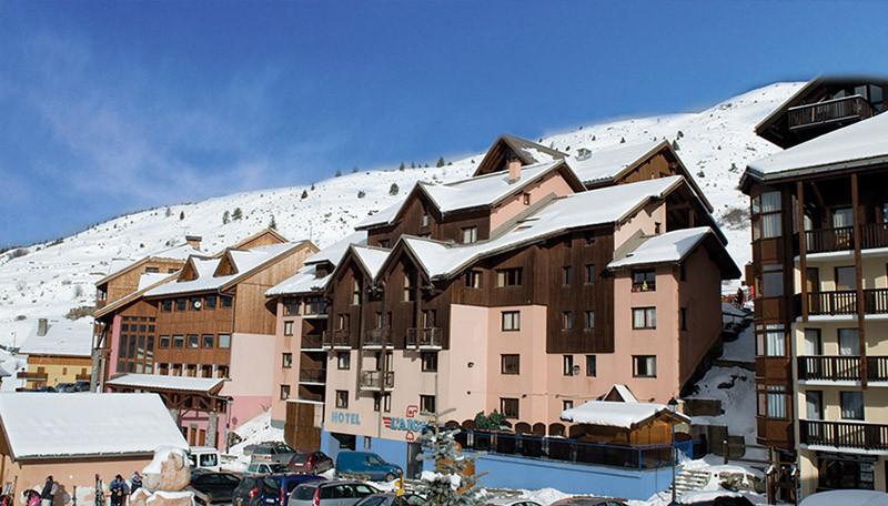 Back View Hotel L'Aigle Valmeinier