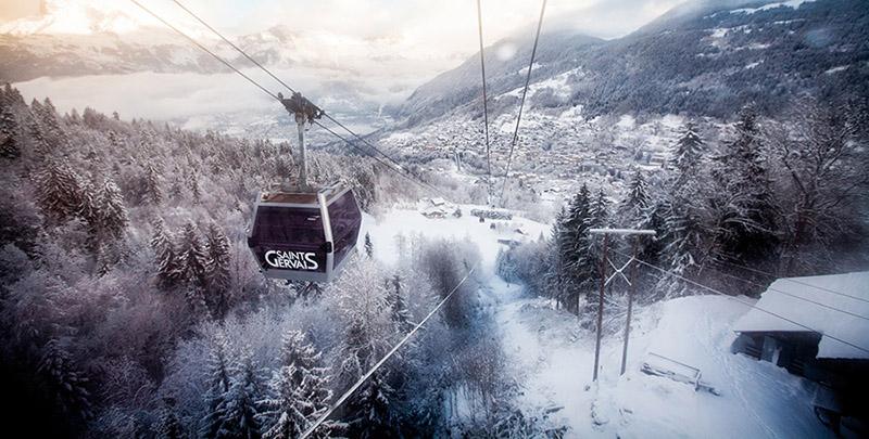 St Gervais Ski Area