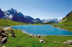 Mountain Lake Valloire