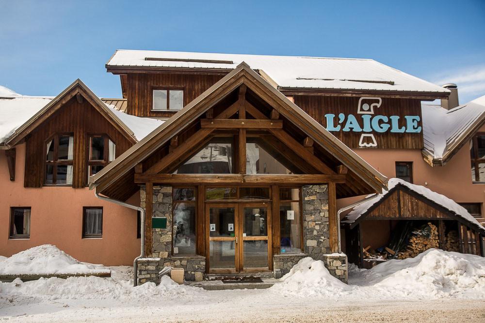 Front Porch Hotel L'Aigle Valmeinier