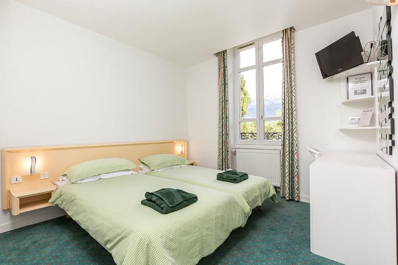 Twin Room Hotel Terminus Mont Blanc