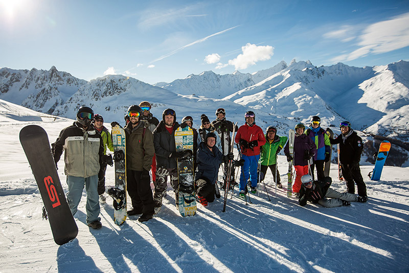 Ski Safari with Hotel L'Aigle