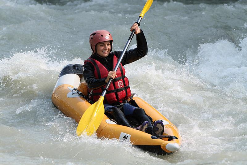 Canoë et Rafting