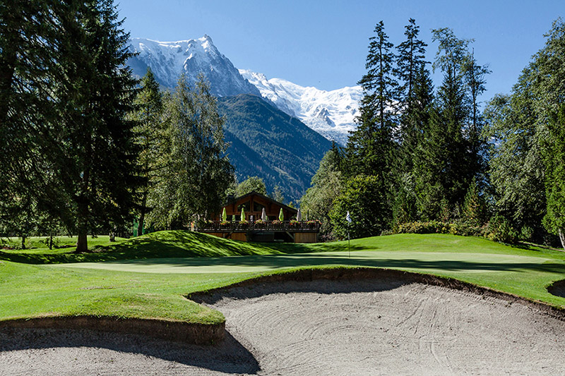 Golf Course Mont Blanc Region