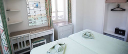 Twin Room Hotel Terminus St Gervais