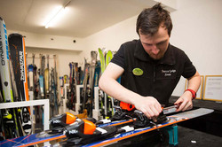 In-House Ski Hire and Service