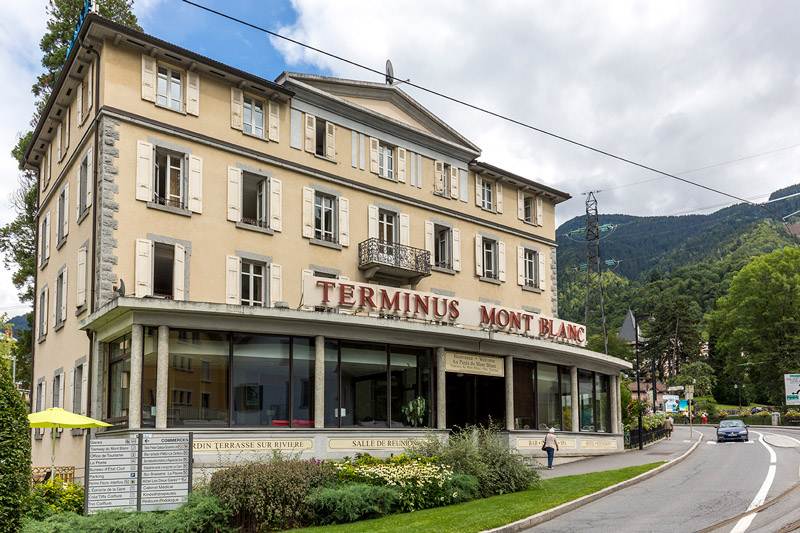 Hotel Terminus St Gervais Le Fayet
